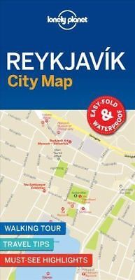Reykjavik City Map - New 2018 - Lonely Planet - Iceland