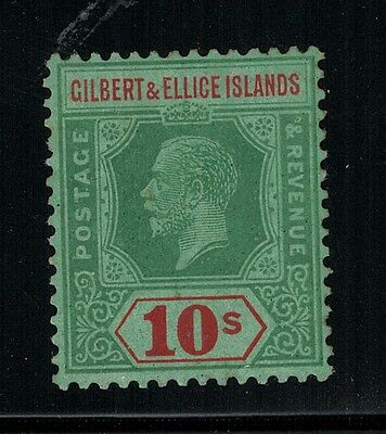 Gilbert & Ellice Islands 1921-27 SC 31 LH CV$ 160