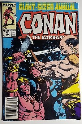 CONAN THE BARBARIAN #12 ANNUAL 1987 MARVEL VG FREE USA Shipping