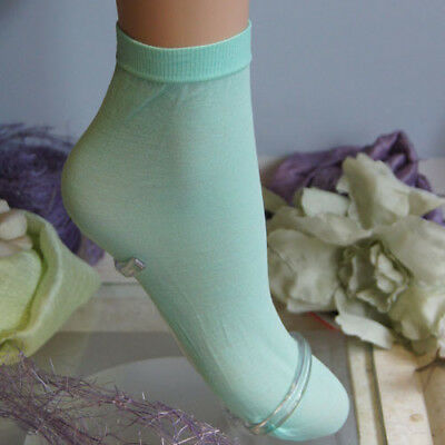 "Trasparenze ""Monique"" Mentha Cotton Ankle Socks"