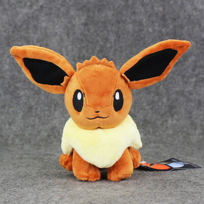 Pokemon Let's Go Eevee Pikachu Plush Plushie Toy for Kids at Christmas
