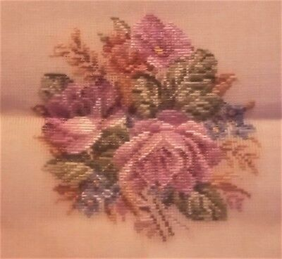 Beautiful Vintage Tapestry Needlepoint Panel, ideal for cushion/chair cover