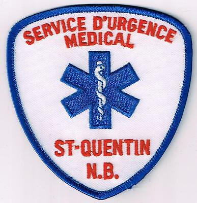 St. Quentin Emergency Medial Service, New Brunswick, Canada patch