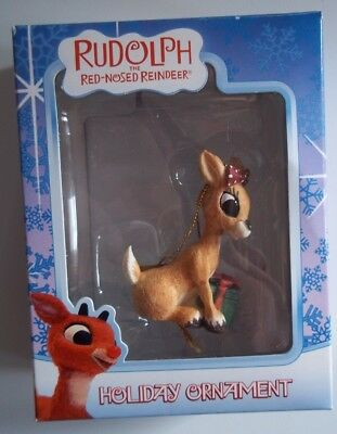 SITTING CLARICE Island of Misfit Toy Rudolph Ornament and  Box Enesco RARE CVS