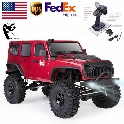 1:10 RGT 4WD Off Road Electric RC Car High Speed SUV Monster Truck Rock Crawler