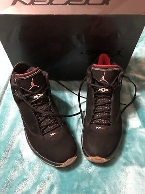 the best attitude c2075 8c165 Nike Air Jordan Xx2 22 Black Varsity Red Metallic Silver 315299-001 Sz 13