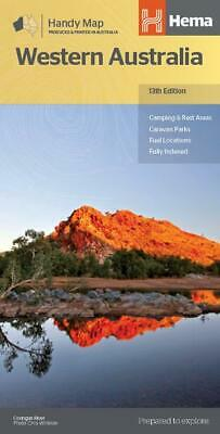 Hema Maps - Western Australia Handy Map 12Th Edition - Camping Rest Areas Parks