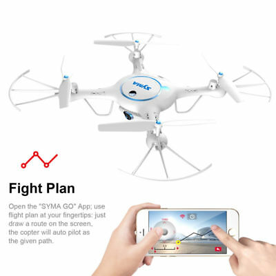 2 Batteries Syma X5UW Wifi FPV RC Quadcopter Drone 2.4Ghz with HD Camera 720P