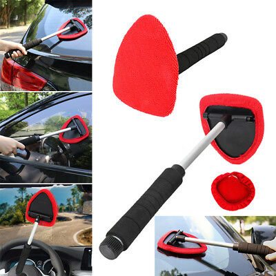 Extendable Windshield Clean Tool Car Auto Wiper Cleaner Glass Window Brush