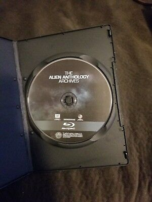 The Alien Anthology Archives  , Part 2 , Blu-Ray Disc