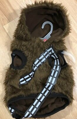 Dog Clothes STAR WARS Chewbacca Size Large NWT