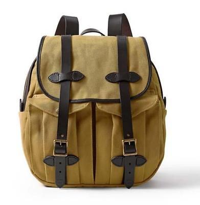 Filson Rugged Twill Rucksack Tan 11070262 NWT New