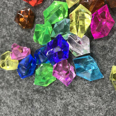 Colorful Acrylic Ice Gems Diamond Jewel Wedding Party Table Scatter Decoration