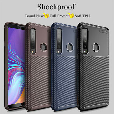 For Samsung Galaxy A9 A8 A7 A6 Plus 2018 Shockproof Soft TPU Back Case Cover
