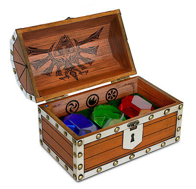 Legend of Zelda Rupee Chest Paperweight - Rupee Paper Weight Chest