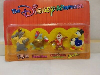 1991 Kellogs The Disney Afteroon Figures NEW IN BOX