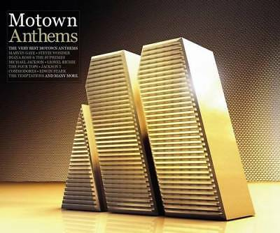 MOTOWN ANTHEMS The Very Best Motown Anthems - Various Artists NEW SEALED 4X CD