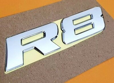 HSV VY VZ R8 Chrome Badge For Clubsport Maloo R8.