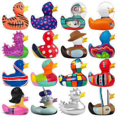 Bud Mini / Regular Deluxe Rubber Duck Bath Time Ideal Gift Large Collection Toy