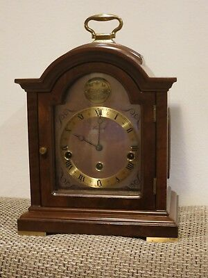 Very Rare Dutch Warmink Table clock , Tempus Fugit, Westminster Chime