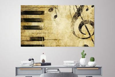 PIANO CHORD art Home decor High quality Canvas print choose size