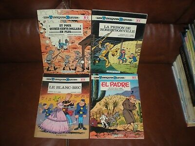 Les Tuniques Bleues - Lot 4 Tomes N°3 + 6 + 14 + 17 Editions Anciennes Brochees