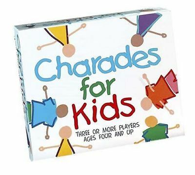 Charades For Kids Game Children's Family Board Picture Game Paul Lamond Games