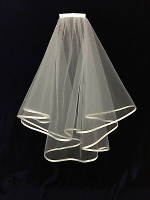 Classic White Veil, Ideal Holy Communion, Brand new
