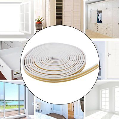 12m Foam Draught Excluder D Type Seal Strip Insulation for Door Window New NVT