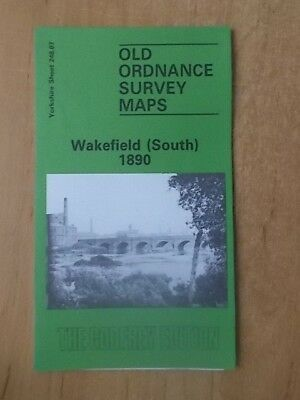 Old Ordnance Survey Maps Yorkshire Sheet 248.07 Wakefield South 1890