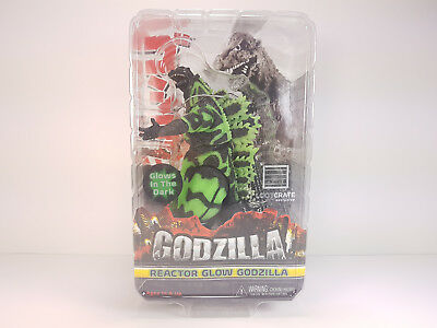 """NECA Godzilla Reactor Glow Loot Crate Exclusive Head to Tail 12"""" Action Figure"""