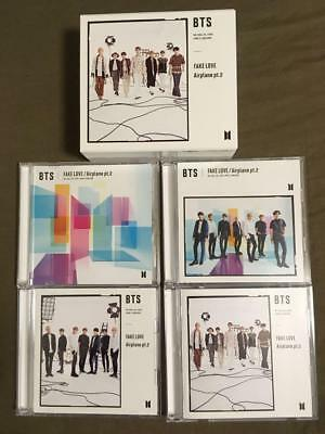 BTS FAKE LOVE Airplane pt.2 universal store 4CD 2DVD + BOX NO PHOTOCARD
