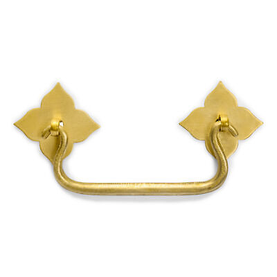 """CBH 2 Chinese Bunchberry Handle Brass Hardware Pulls 4"""""""