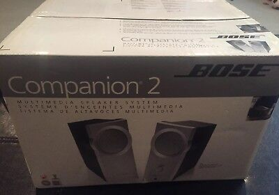 Bose Companion 2 Multimedia Speaker System New