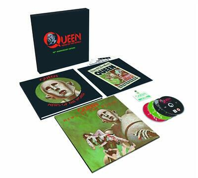 Queen - News Of The World - 40Th Anniversary (4 Cd+Dvd)