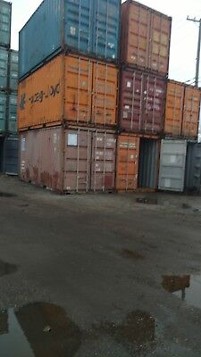 WE DELIVER 20ft STANDARD SHIPPING CONTAINER CONEX BOX STORAGE CHICAGO 20 40 MIX