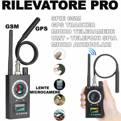 Rilevatore Professionale Di Microspie Bonifica Ambientale Spy Spie Cimici Cw124 Other Dj Equipment Musical Instruments & Gear