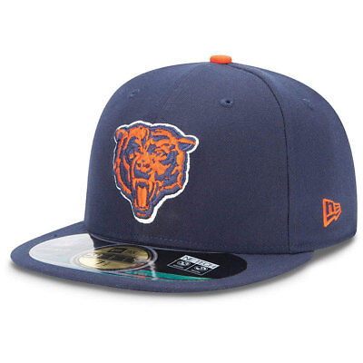 Chicago Bears New Era NFL OnField 59FIFTY Fitted Cap - 7 1/4