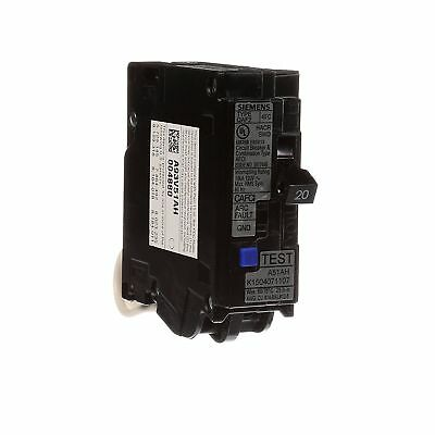 Siemens QA120AFCP 20 Amp 1 Pole 120 V Combination AFCI Circuit Interrupter