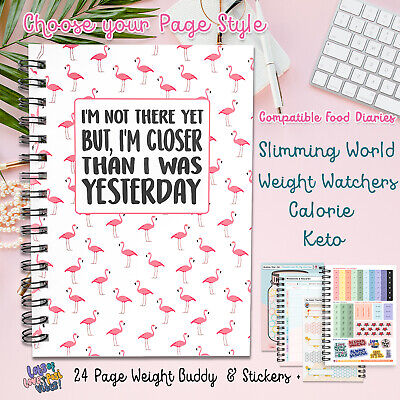 FOOD Diary slimming world useable weight loss log tracker planner 2019 NEW V420