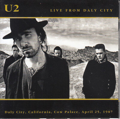 "U2 "" Live From Daly City, 2 Cd's"""