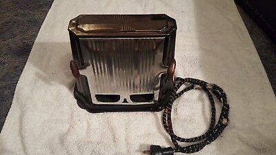 Vintage Art Deco Metal CORONA Brand Series 680 Toaster Tested and Working
