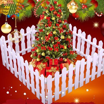 The Scene Of Christmas Tree Props Decorated With A Wooden Fence Of 1.2 Meters#JK