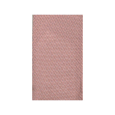 Falke Pink Small Diamond Patterned Cotton Knee Socks