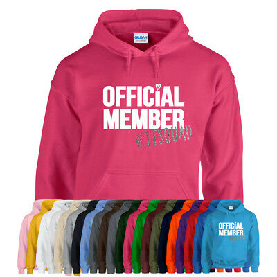Tiana OFFICIAL MEMBER #TTSQUAD Toys and Me Girls Unisex Kids Hoodie Hoody NEW
