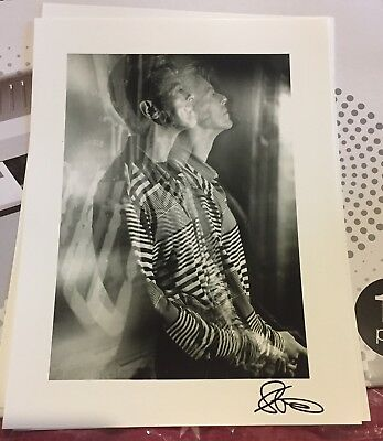 David Bowie-Outside Press Conference A3 Quality Paper Print