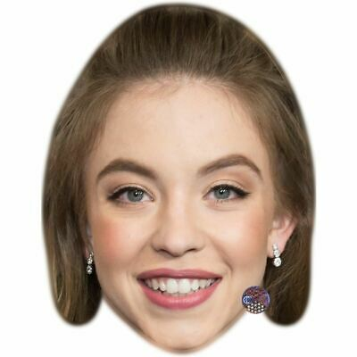 Sydney Sweeney Celebrity Mask, Card Face and Fancy Dress Mask