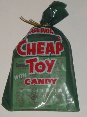 1986 GARBAGE PAIL KIDS Cheap Toys New Sealed Bag WITH NO FIGURE! CRAZY RARE