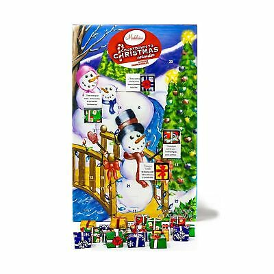 Madelaine Chocolates Christmas By The Creek Countdown Advent Calendar, Filled...