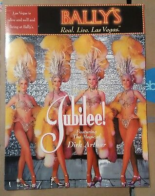 Bally's Casino Las Vegas, Nevada Jubilee Menu Great For Any Collection!